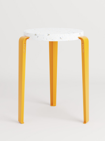 LOU stool in recycled plastic VENEZIA by TIPTOE