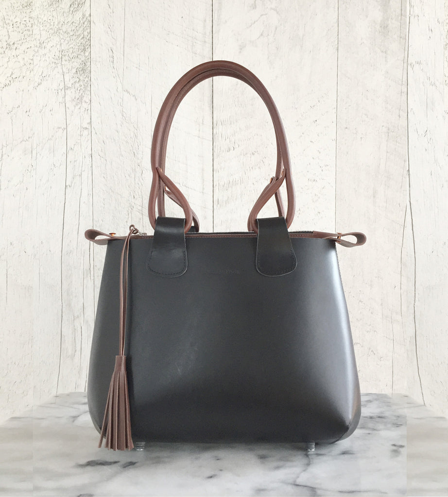 Cabin Bag Black and Brown Lysanne Pepin Limited édition