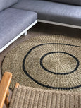 Round Seagrass Carpet