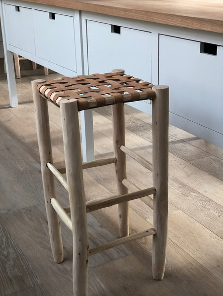 BOHO Leather STOOL counter top