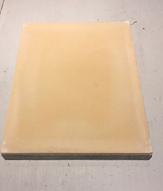 Rectangle cement tile crema