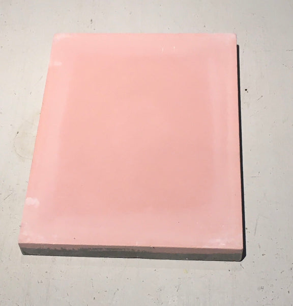 Rectangle cement tile pink
