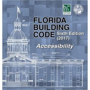Inserts of 2017 Florida Building Code - Accessibility, 6th edition