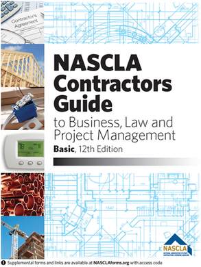 NASCLA Accredited Commercial General Building Contractor Examination Book Package