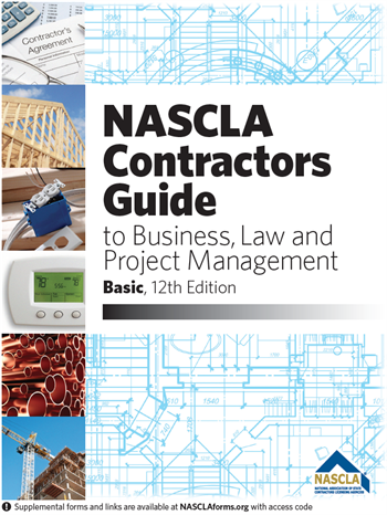 NASCLA Accredited Commercial General Building Contractor Books, Tabs & Course Package