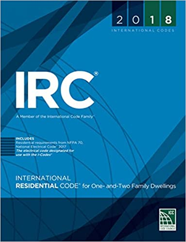 International Residential Code 2018