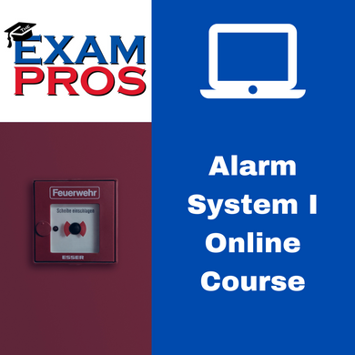 Alarm I Contractor Online Home Study Course