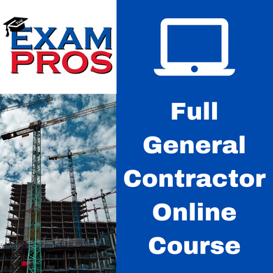 Full General Contractor Online Course