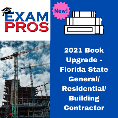 2021 Book Upgrade - Florida State General Building Residential Contractor
