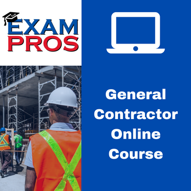 General Contractor Online Home Study Course