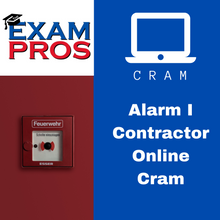 Load image into Gallery viewer, Alarm I Contractor Online Cram