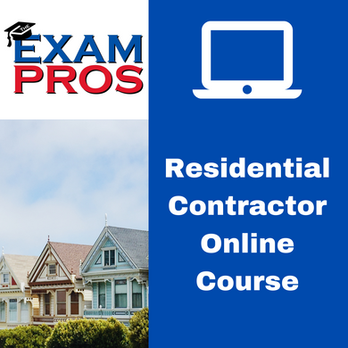 Residential Contractor Online Home Study Course
