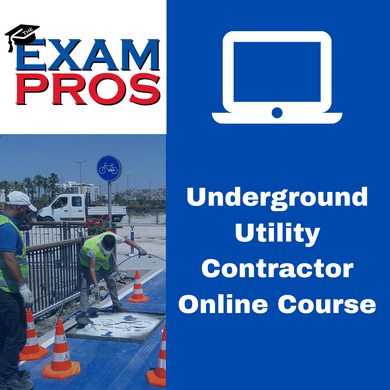 Underground Contractor Online Home Study Course