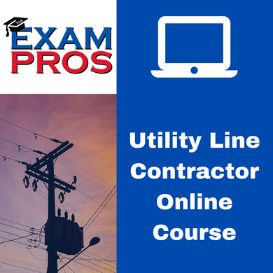 Utility Line Contractor Online Home Study Course