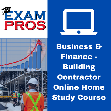Business & Finance - Building Contractor Online Home Study Course