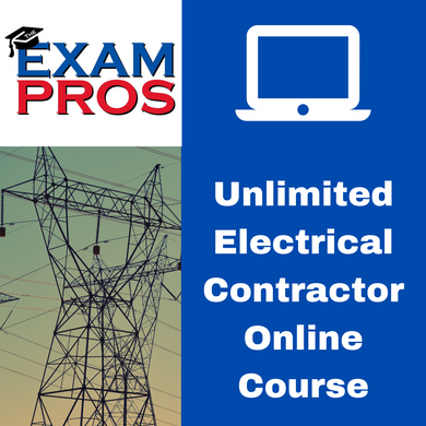 Unlimited Electrical Contractor Online Home Study Course
