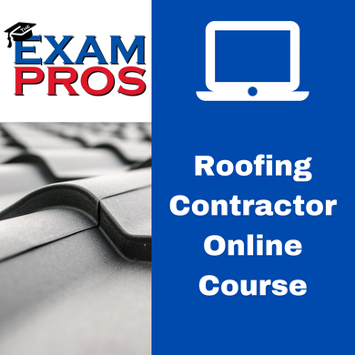 Roofing Contractors Online Home Study Course