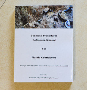 GITS Business Procedures Reference Manual - Tabbed and Highlighted