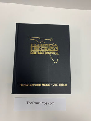Florida Contractor's Manual 2017 Edition