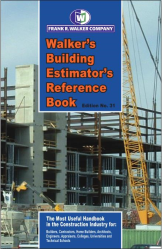 Walker's, Building Estimator's Reference Book, 31st Edition, 2017