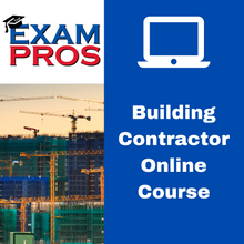 Load image into Gallery viewer, Building Contractor Online Home Study Course