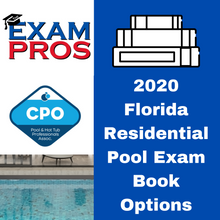 Load image into Gallery viewer, 2020 Florida Residential Pool Exam Book Options