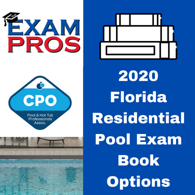 2020 Florida Residential Pool Exam Book Options