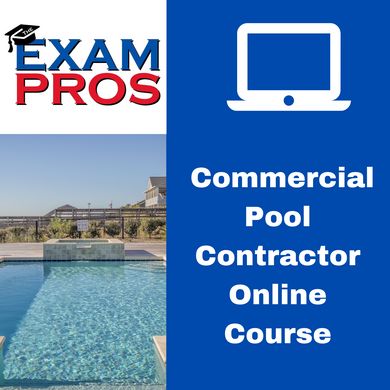 Commercial Pool Contractor Online Home Study Course