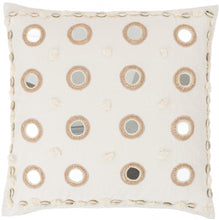 Load image into Gallery viewer, Banjara Mirrored Ina Square Pillow