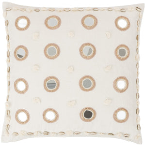 Banjara Mirrored Ina Square Pillow