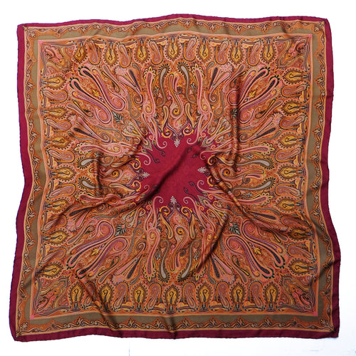 Fantasian Scarf (Dark Red)