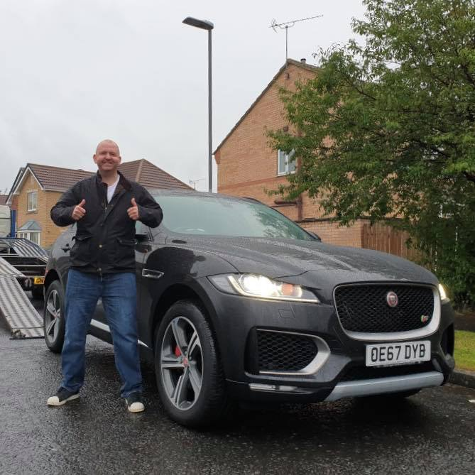 Richard Metcalf - Jaguar F Pace