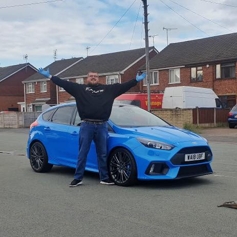 Nathan Phillips - 2018 Focus RS Edition