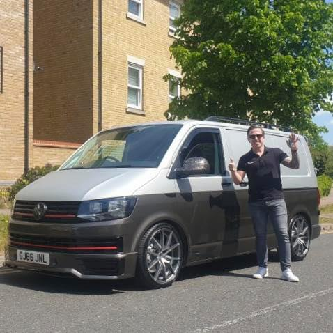 Chris Bush - VW Transporter Van