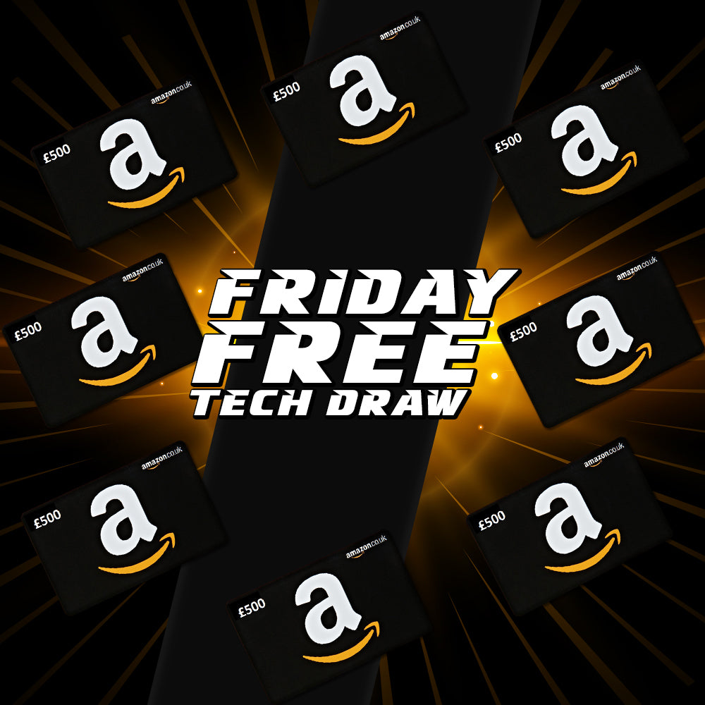 Friday 4th December Free Tech Draw