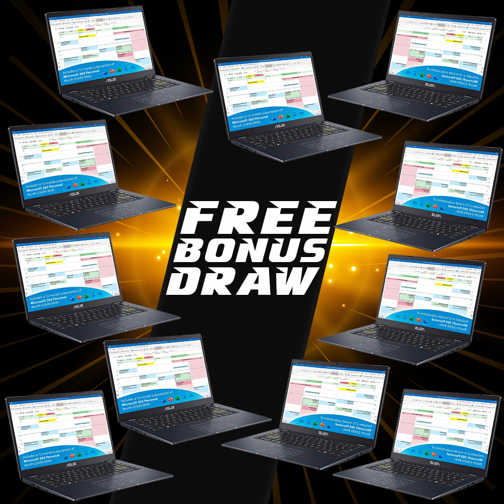 Monday 8th Free Bonus Draw