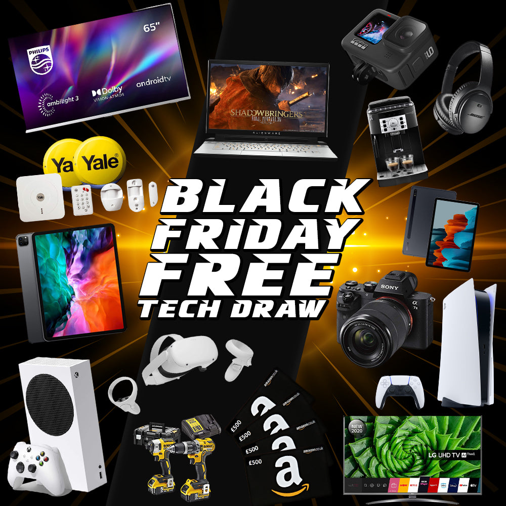Black Friday Free Tech Draw