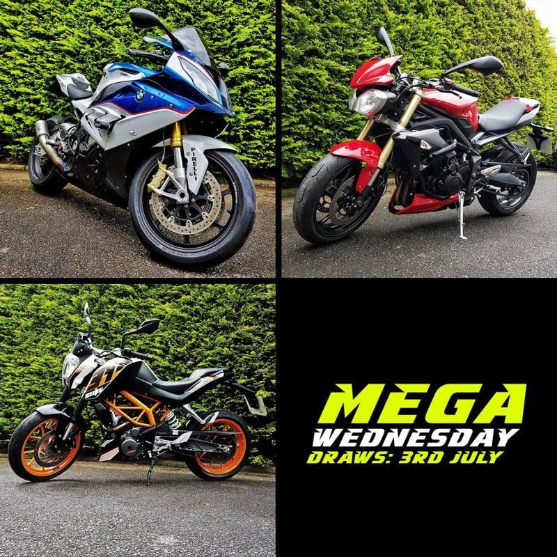 MEGA Wednesday Entry Lists - 3rd July 2019