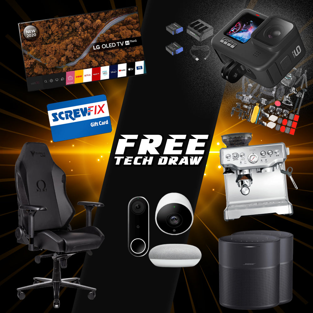 Monday 28th Free Tech Draw