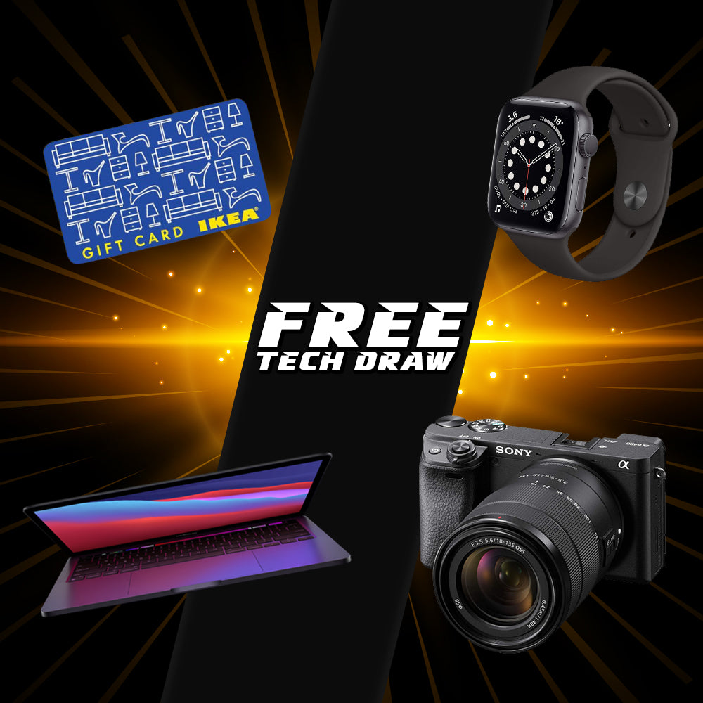 Monday 4th Jan Free Tech Draw