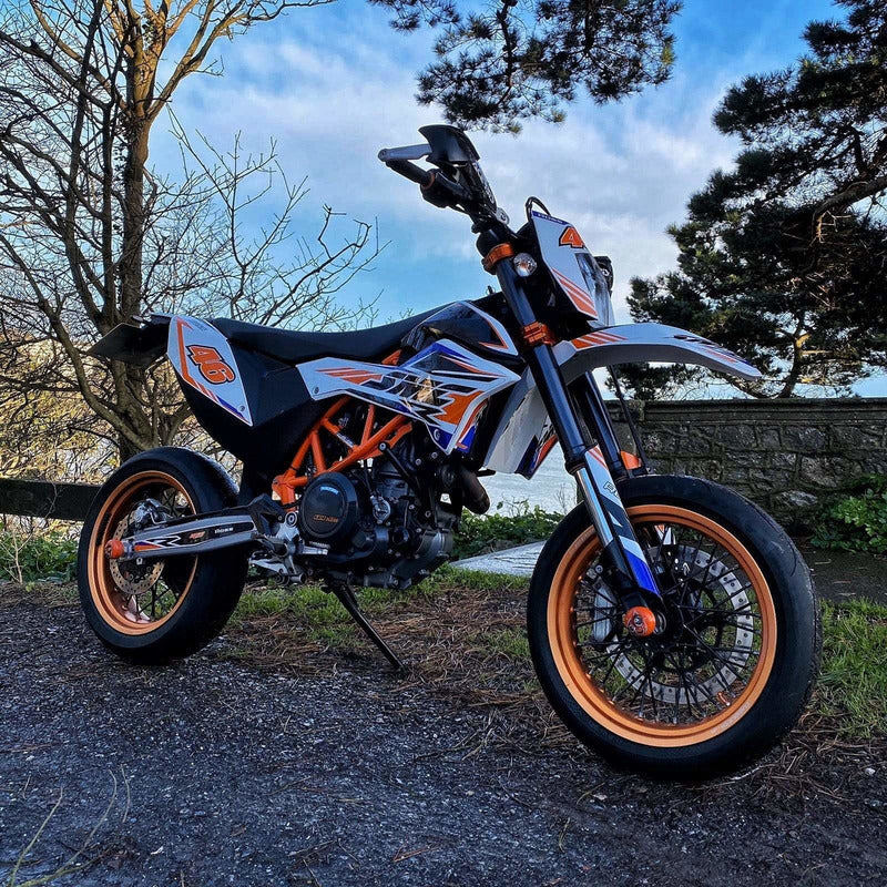 Rev Comps Competition KTM 690 ENDURO R Win Cars Bikes Vans