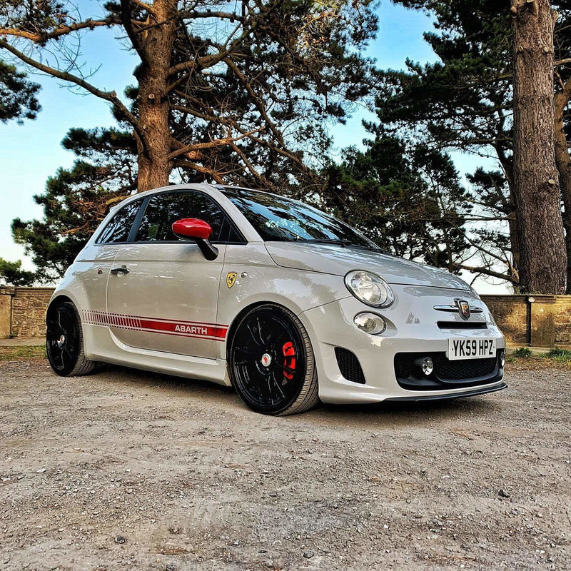 Rev Comps Competition Poppy Bangy Fiat 500 Abarth 170BHP Win Cars Bikes Vans
