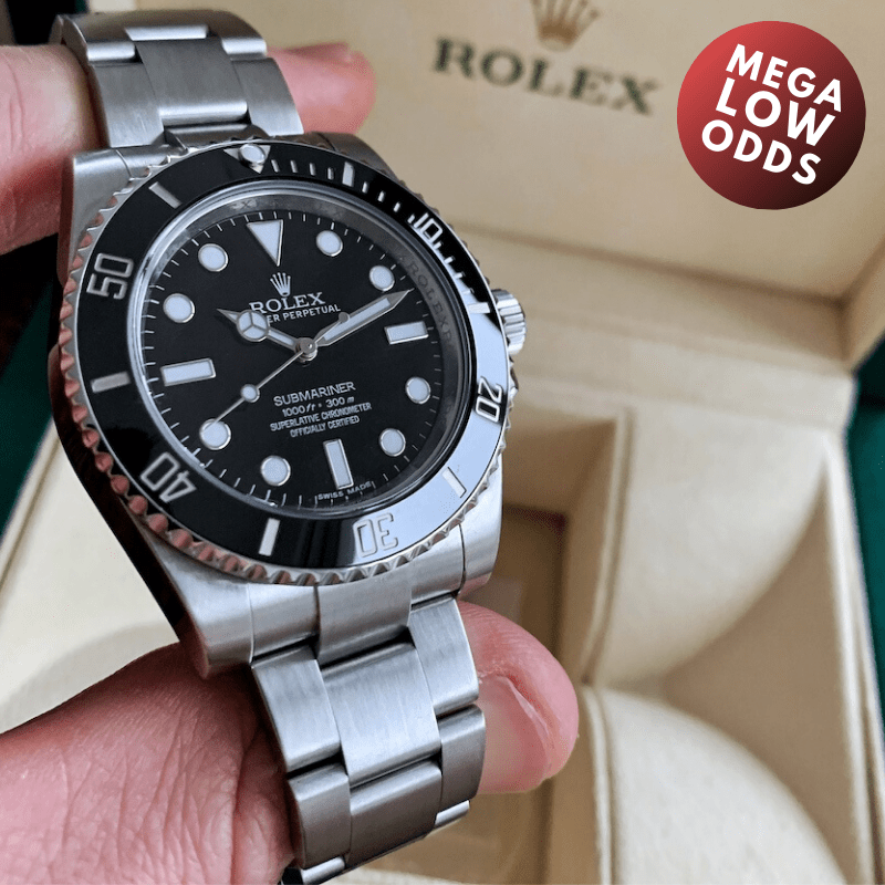 Rev Comps Competition Rolex Submariner Watch Win Cars Bikes Vans