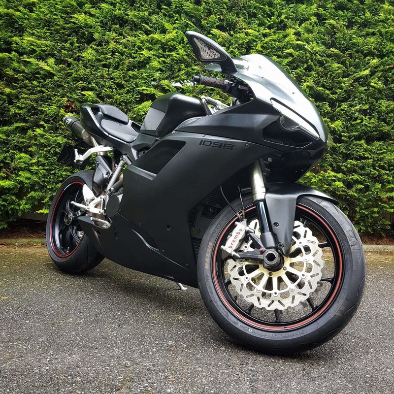 Rev Comps Competition Stealth Black Ducati 1098 Win Cars Bikes Vans