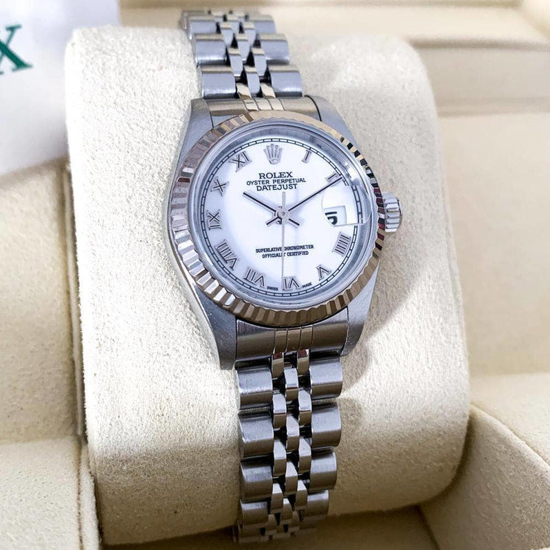 2004 Rolex Lady White Gold & Steel Datejust