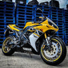 Rev Comps 2005 Yamaha R1 Kenny Roberts 50th Anniversary Win Cars Bikes Vans