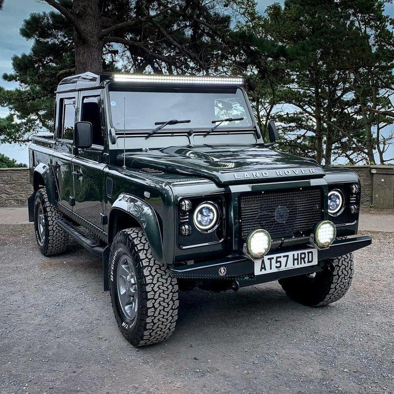 Rev Comps Competition 2007 Land Rover Defender Puma 2.4L Fully Loaded Pick Up Win Cars Bikes Vans