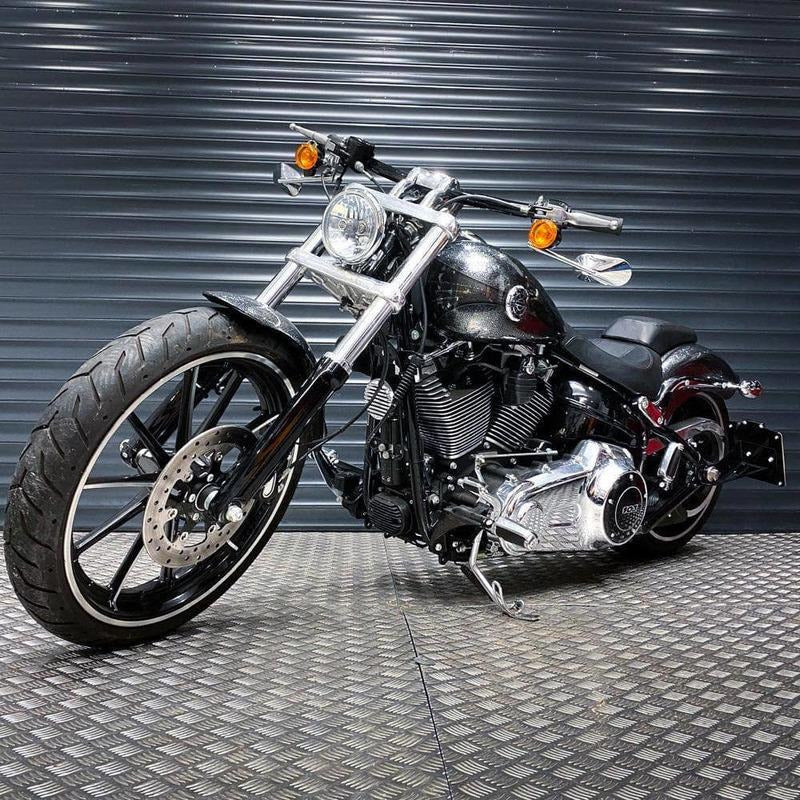 Rev Comps Competition 2013 Harley FXSB 103 Breakout 1690cc Win Cars Bikes Vans