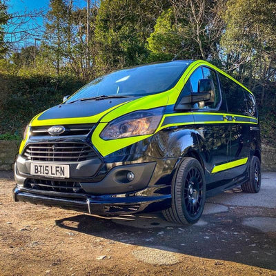 Rev Comps Competition 2015 Ford Transit 2.2L TDCI Custom Win Cars Bikes Vans