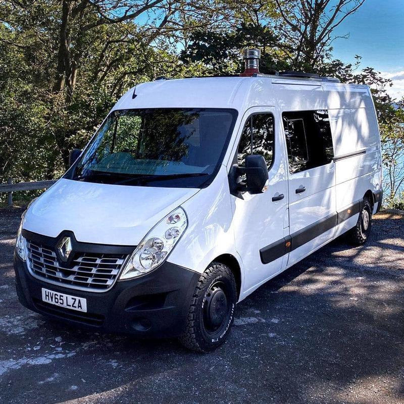 Rev Comps Competition 2015 Renault Master 2.3L LWB Forest Log Cabin Campervan Win Cars Bikes Vans